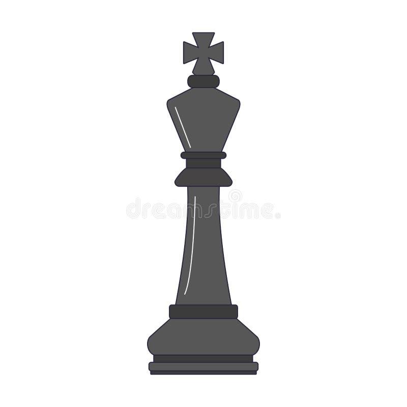 Morceau de jeu d'échecs illustration libre de droits