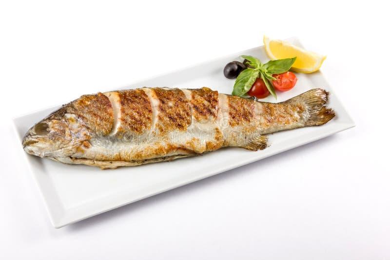 Morceau de poissons juteux photos libres de droits