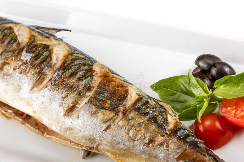 Morceau de poissons juteux images stock
