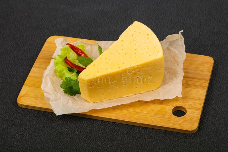 morceau. du fromage jaune photo libre de droits