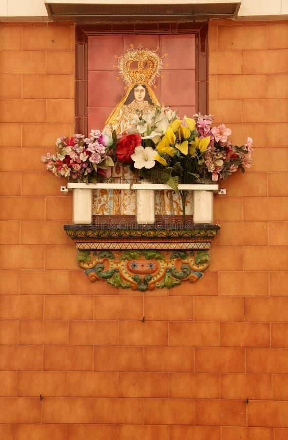 Morceau en céramique d'autel image libre de droits