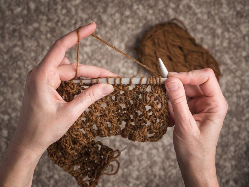 Morceau fabriqué à la main de textile images libres de droits