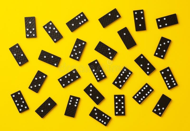 Morceaux de domino images stock