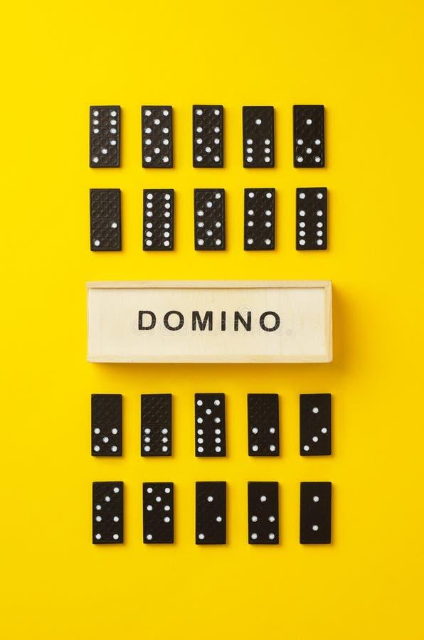 Morceaux de domino photo libre de droits