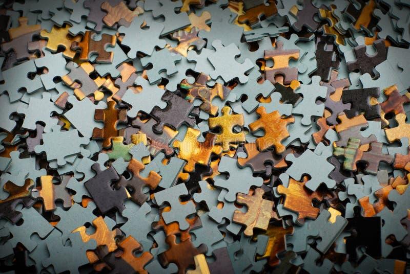 Morceaux de puzzle images stock