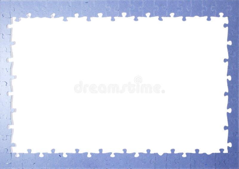 Morceaux de puzzle de vue images stock
