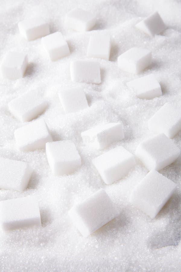 Morceaux de sucre photos stock