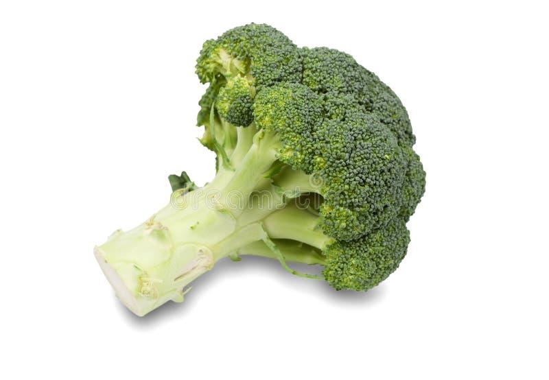Morceaux frais et verts de brocoli images libres de droits