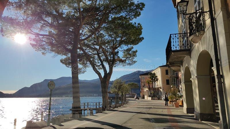 Morcote Suiza imágenes de archivo libres de regalías
