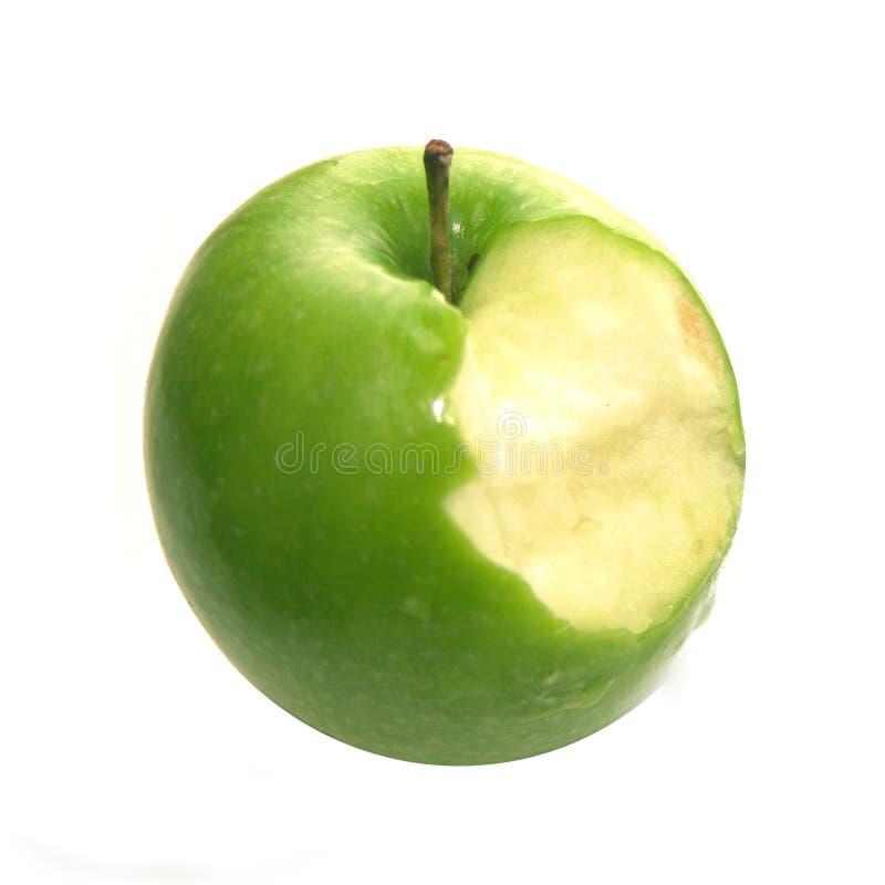 Mordedura de Apple fotografía de archivo libre de regalías