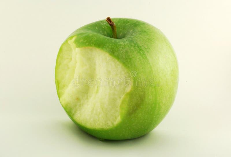 Mordedura de Apple imagen de archivo libre de regalías
