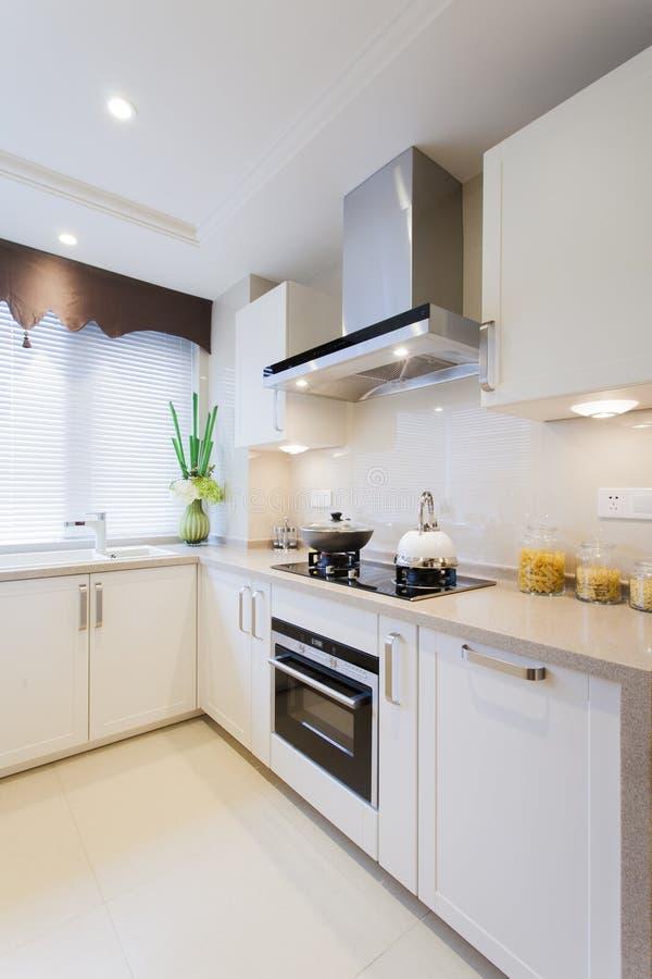 Download Morden kitchen stock image. Image of white, kitchen, sweet - 31950365