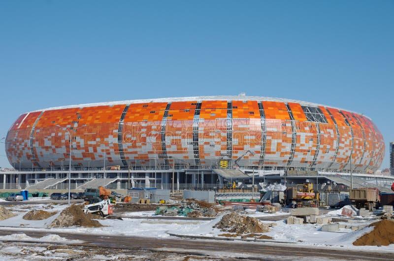 Mordovia arena fotografering för bildbyråer