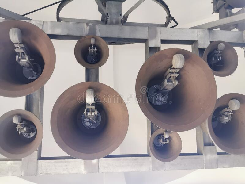 More Bells ringing royalty free stock images