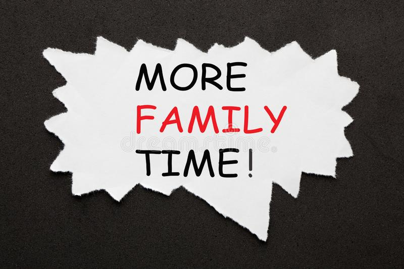 More Family Time royalty free stock images