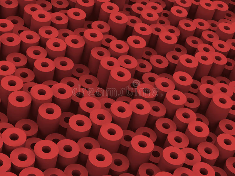 Download More red tubes stock illustration. Image of patern, array - 16794652
