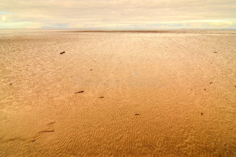 Morecambe fjärd arkivbild