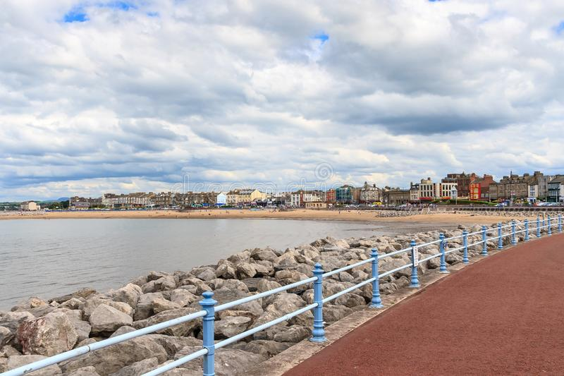 Morecambe Seafront royalty free stock photo