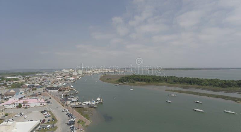 Morehead City Waterfront royalty free stock photo