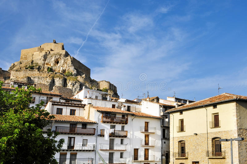 Download Morella, Valencia, Spain stock image. Image of remains - 16294815