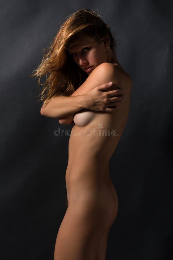 Download Morena foto de archivo. Imagen de joven, topless, nude - 44850318