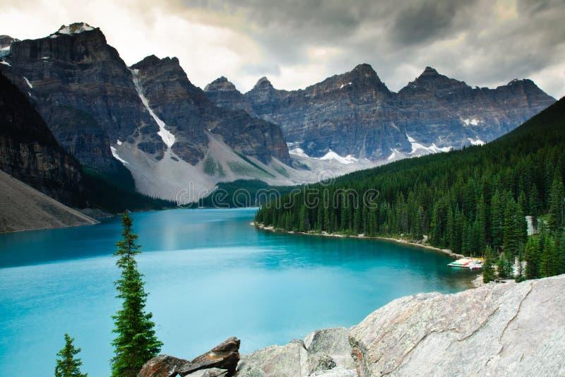 Morena jezioro zdjęcie stock