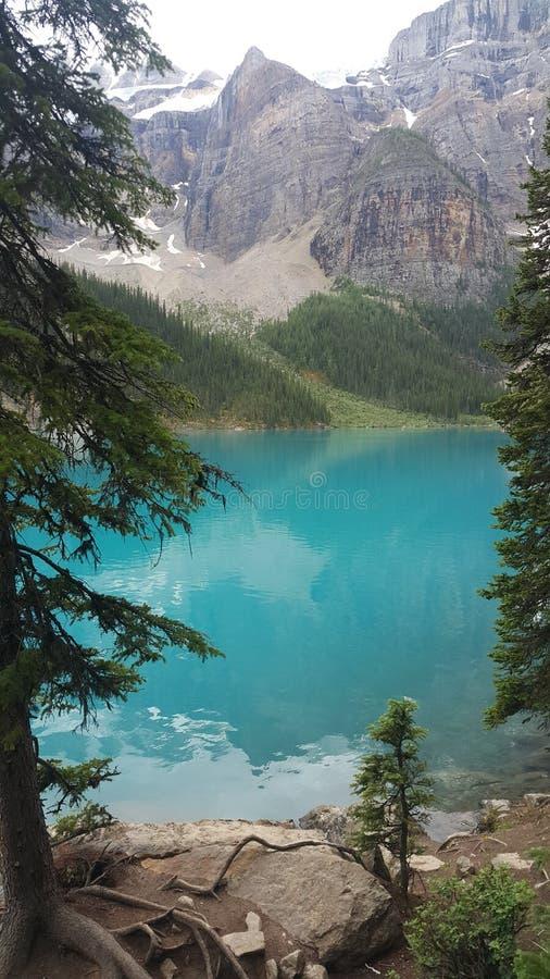 Morena jezioro Banff obraz royalty free