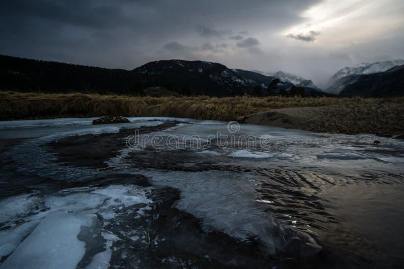 Morena park - Skalistej góry park narodowy zdjęcie stock
