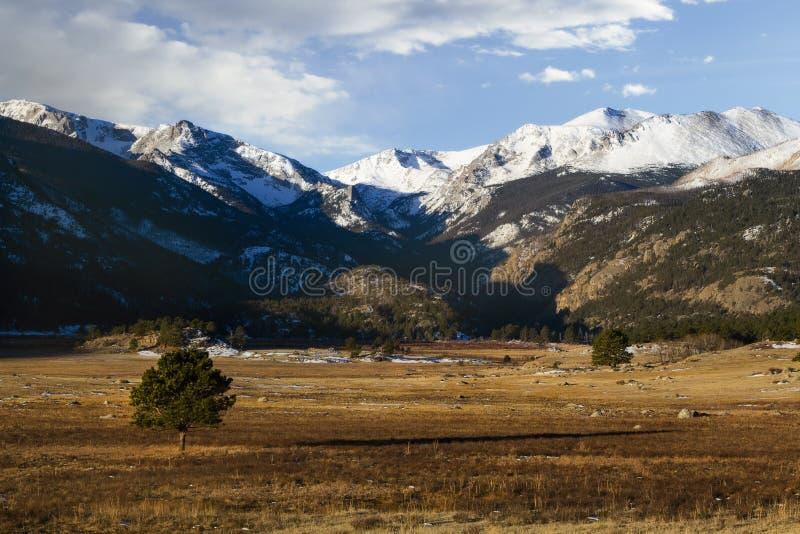 Morena park w Skalistej góry parku narodowym zdjęcia stock