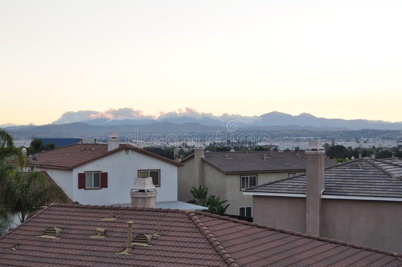 Moreno-Dachspitzen stockfotografie
