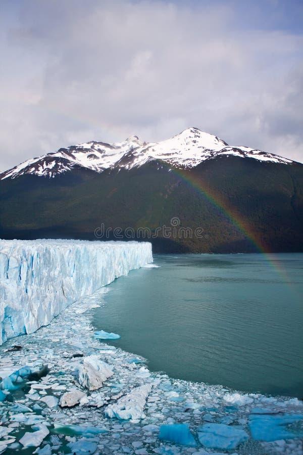 Download Moreno Glacier Rainbow With Water Stock Photo - Image: 17309330