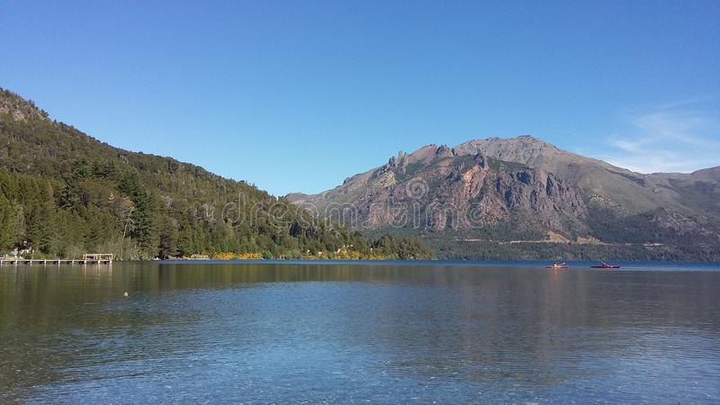 Moreno Lake royalty-vrije stock afbeelding