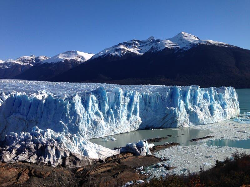 Moreno lodowiec perito patagonii obraz stock