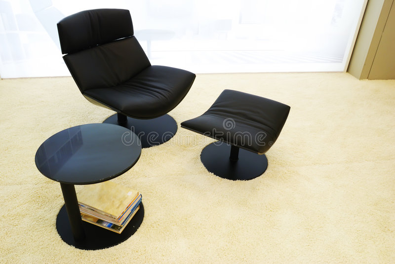Morern office chair stock photography