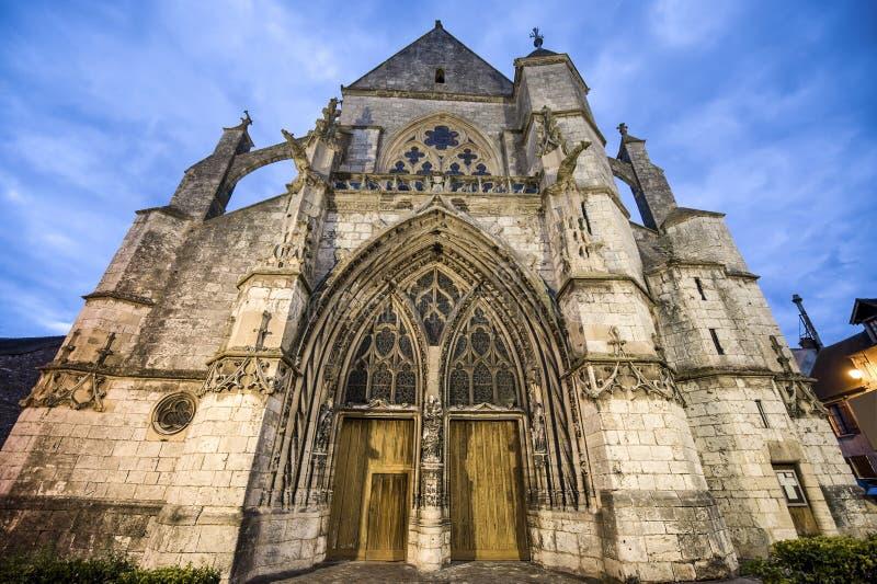 Moret-sur-Loing stock photo