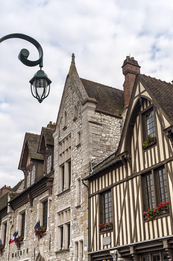 Moret-sur-Loing (Francia) imágenes de archivo libres de regalías