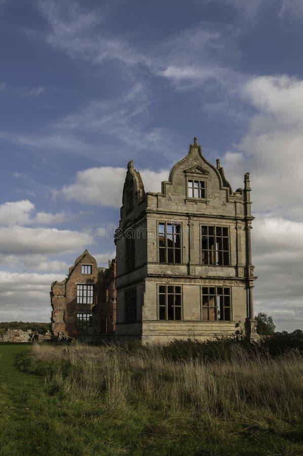 Moreton Corbet城堡,萨罗普郡,英国 库存照片
