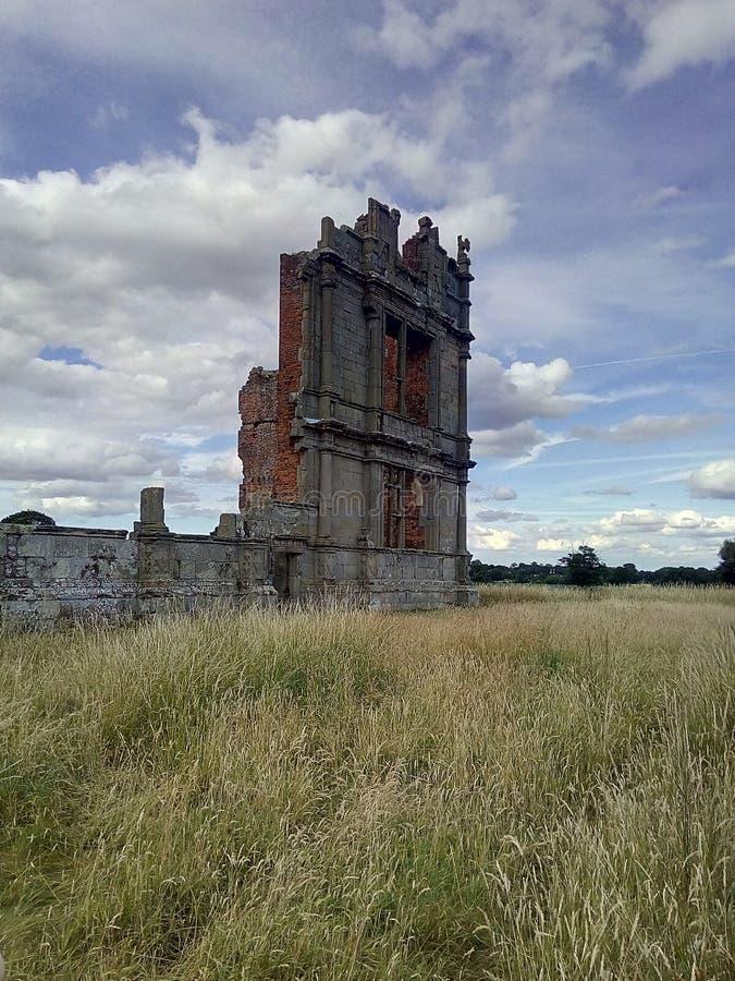 Moreton Corbett Castle fotografering för bildbyråer