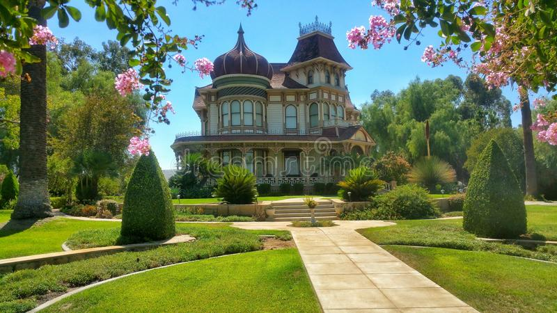 Morey Mansion royaltyfri foto