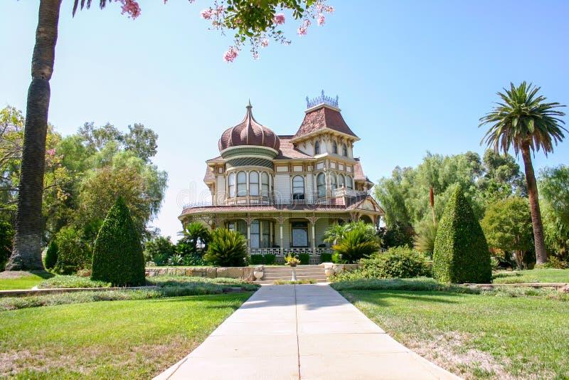 Morey Mansion - Redlands, Califórnia imagens de stock