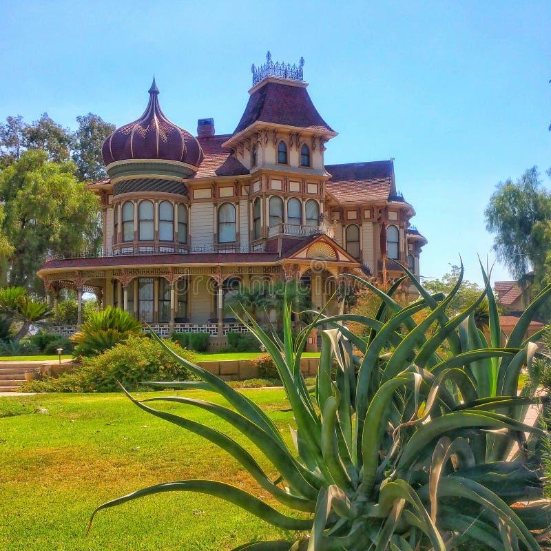Morey Mansion - Redlands, California fotos de archivo libres de regalías