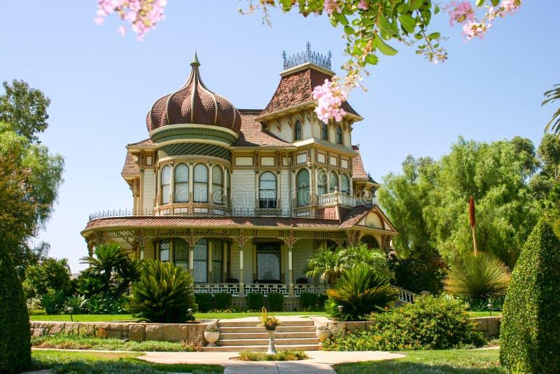 Morey Mansion - Redlands, California fotografía de archivo