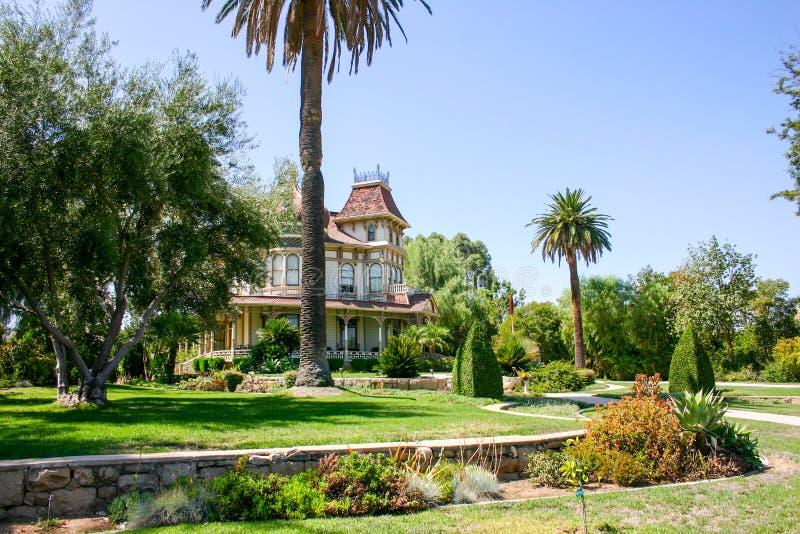 Morey Mansion - Redlands, California imagen de archivo libre de regalías