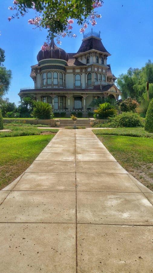 Morey Mansion - Redlands, Kalifornien stockbilder