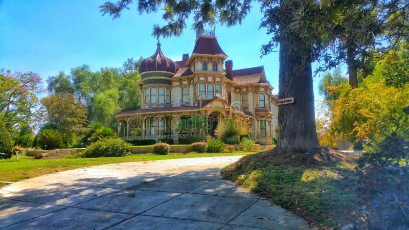 Morey Mansion - Redlands, la Californie image libre de droits