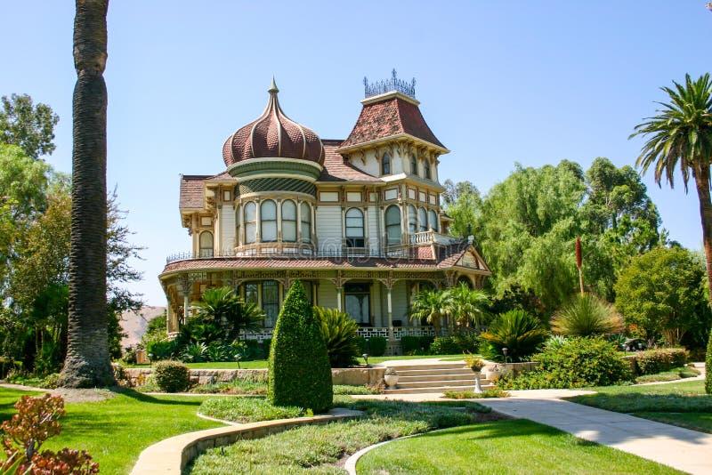 Morey Mansion - Redlands, la Californie photo libre de droits