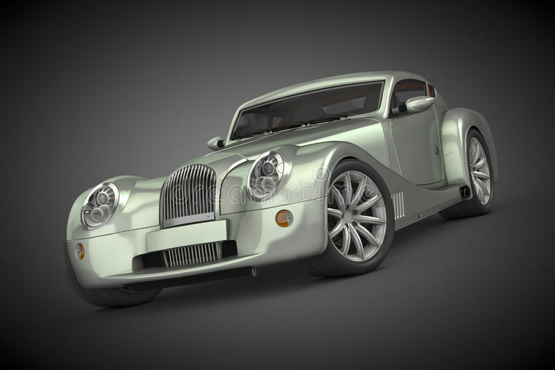 Morgan Aero Coupe (2012) royalty free stock image