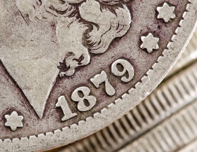 Download Morgan-Dollar 1879 stockbild. Bild von dollar, münze, prägung - 9082627