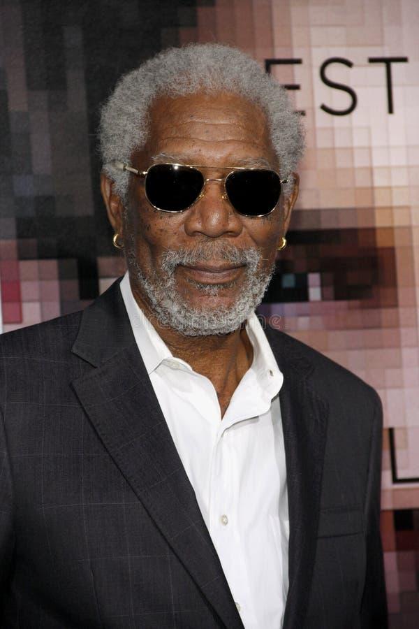 Morgan Freeman royalty-vrije stock foto
