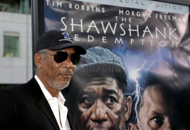 Morgan Freeman royalty-vrije stock foto's